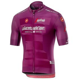 Castelli Giro d'Italia #102 Squadra Miehet Pyöräilypaita lyhythihainen , violetti
